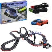 Автотрек JJ Slot Racing 2 петли, трасса 1020 см (100-2)