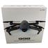 Квадрокоптер дрон с гироскопом камерой 4к и HD wi-fi подсветка 3.7V Черный (2162194)