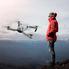 Квадрокоптер дрон с гироскопом камерой 4к и HD wi-fi 3.7V Белый (4191580)