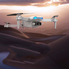Квадрокоптер дрон с гироскопом камерой 4к wi-fi подсветка 3.7V Белый (2234884)