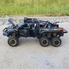 Машинка коллекционная ТК Union Group Ford Raptor с мотоциклом внедорожник металлический игрушечный с подсветкой фар 1:24 Черный (6752124)