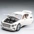Машинка коллекционная ТК Union Group Bentley Continental GT металлическая моделька игрушечная с подсветкой фар 1:24 Белый (9666329)