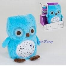 Игрушка ночник детский Funmuch No63 Сова с проектором и мелодиями