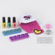 Набор для детского маникюра игровой для девочек Fun Game Студия Красоты с сушкой и лаками (8862367)