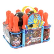Боулинг детский игровой набор с кеглями и шарами Красный (8004931)