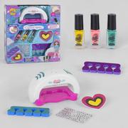 Набор для маникюра детский игровой для девочки Fun Game Студия Красоты с лампой для ногтей и лаками (2163986)