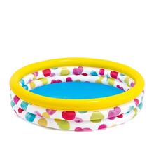 Надувной бассейн для детей Intex Круги Геометрия 147х33 см 324 л от 3 лет (1548006)