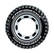 Надувной круг Intex Шина 91 см для детей 6-10 лет Черный (4948335)