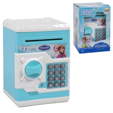 Детский сейф копилка Jia Yu Toy Холодное Сердце электронный с кодовым замком для монет и купюр Голубой (4145464)