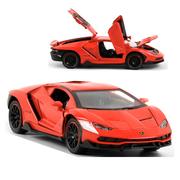 Коллекционная машинка ТК Union Group Lamborghini моделька металлическая игрушка открываются двери 1:24 Красный (2459462)
