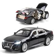 Машинка коллекционная ТК Union Group Toyota Crown металлическая моделька игрушка 1:24 Черный (4490648)