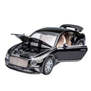 Машинка ТК Union Group Bentley Continental GT коллекционная металлическая моделька игрушечная 1:24 Черный (3171321)