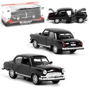Моделька советского автомобиля ТК Union Group Волга Газ-21 машинка коллекционная металлическая игрушка 1:32 Черный (8726629)