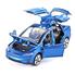 Машинка ТК Union Group Tesla Model X моделька коллекционная металлическая игрушка открываются двери 1:32 Синий (7130157)