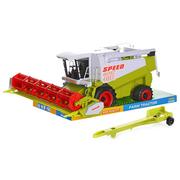 Комбайн детская игрушка Speed инерционный подвижные детали Салатовый/Белый (6031489)