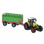 Трактор с прицепом игрушка детская Farm Truck Set инерционный со звуками и светом 36 см Зеленый (r78782)