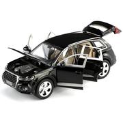 Машинка коллекционная ТК Union Group Audi Q7 металлическая моделька игрушечная с подсветкой фар 1:24 Черный (1362948)