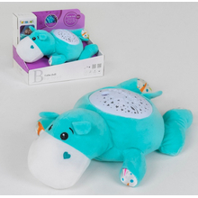 Игрушка ночник детский Funmuch No66 Бегемотик с проектором и мелодиями
