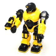 Робот игрушка Jia Yu Toy Thunderbolt ходит со светом и звуком 25 см Желтый (4189832)