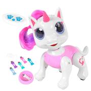 Пони на пульте управления Smart Pet робот сенсорный с косточками Белый/Розовый (1154422)