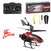 Вертолет на радиоуправлении Jia Yu Toy с гироскопом и подсветкой на аккумуляторе 27 см детский Черно-красный (4299254)