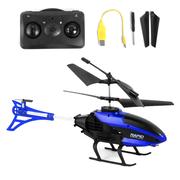 Вертолет на пульте управления детский Jia Yu Toy с гироскопом и подсветкой на аккумуляторе 27 см Черно-синий (6123798)
