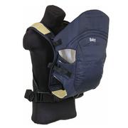 Рюкзак-кенгуру нагрудный слинг Bimbo сумка для переноски детей от 4 месяцев Темно-синий (r86496)