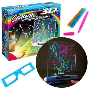 3D доска для рисования с 3D очками Magic Drawing Board