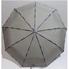 Зонт женский автомат Banders ba02073 складной 9 спиц Серый