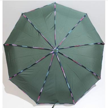 Зонт женский автомат Banders ba02074 складной 9 спиц Зеленый