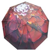 Зонт женский автомат Flagman складной 9 спиц купол 100 см в подарочной коробке Красный (2946789)