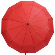 Зонт 12 спиц женский Flagman автомат складной купол 105 см прямая ручка Красный (7036580)
