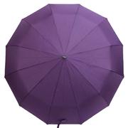 Зонт 12 спиц женский Flagman автомат складной купол 105 см прямая ручка Фиолетовый (2182867)